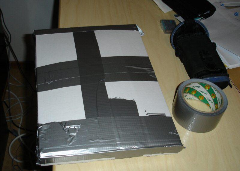 kuitit ja etiketit paketissa