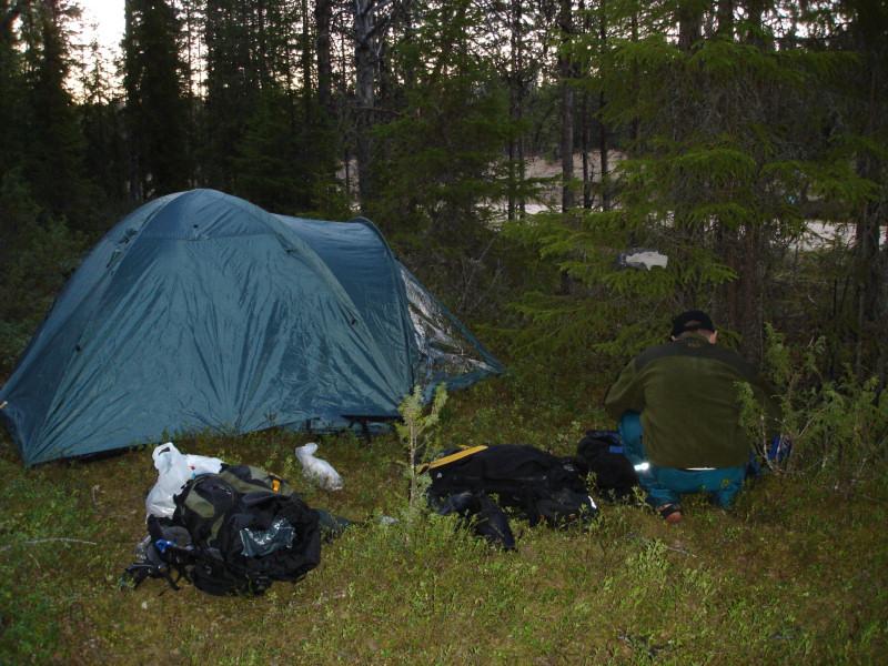 Teltta ekana iltana