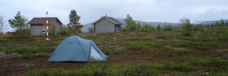 Teltta Tappurissa