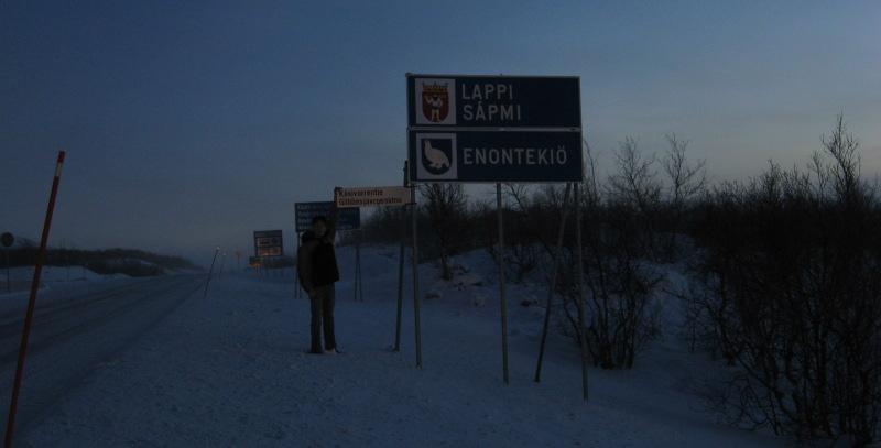 Suomi-Norja-raja Kilpisjärvellä