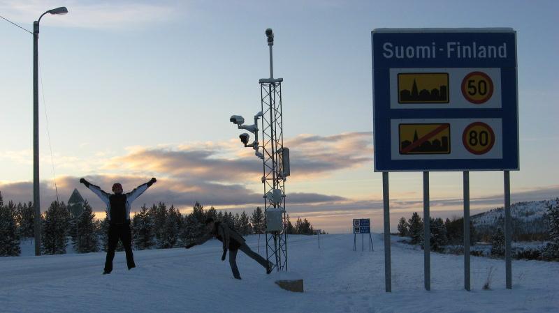 Suomi-Norja-raja Näätämössä