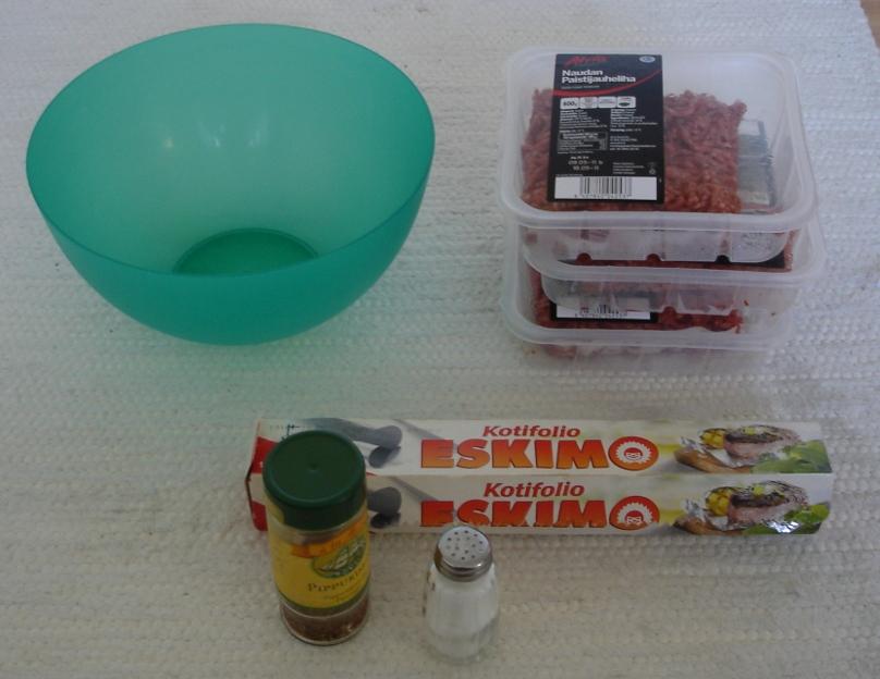 Lihan raaka-aineet